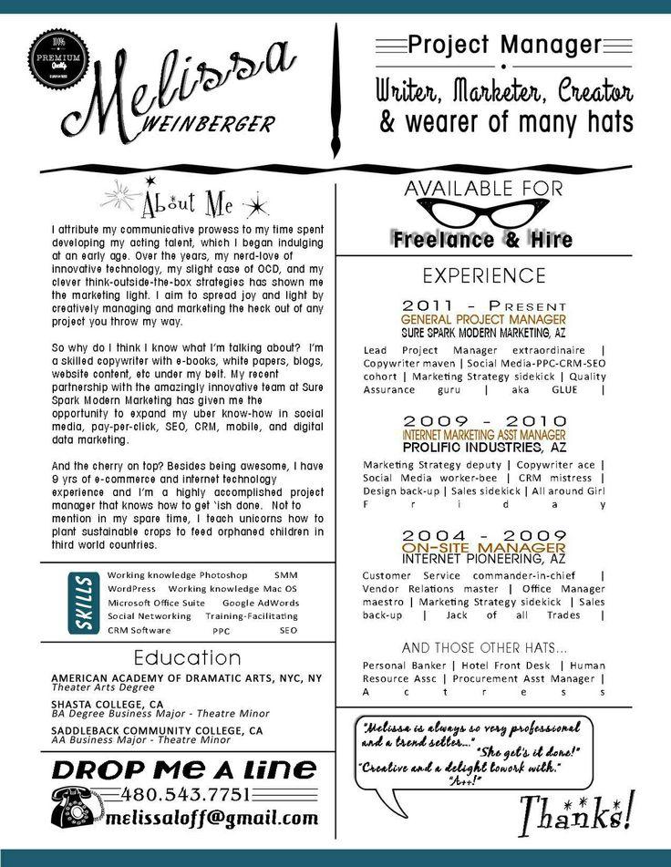 30 best Resume Design images on Pinterest Resume layout, Resume - perfect resume az