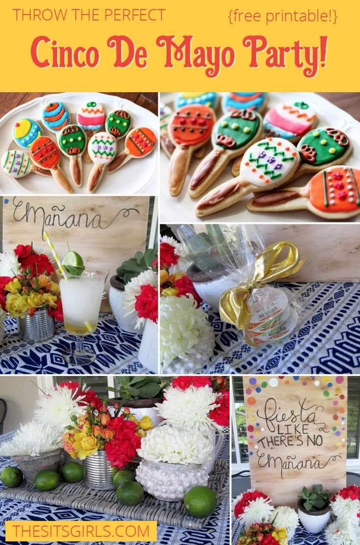 Cookie decorating party ideas - Cinco De Mayo Party Ideas
