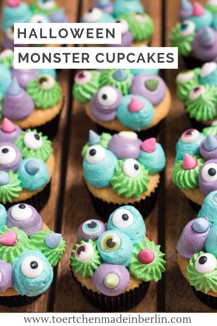 Halloween Monster Cupcakes (mit Bildern) Halloween