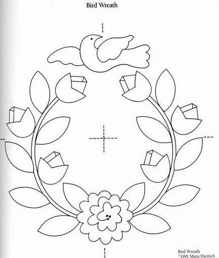 Dibujos de flores para bordar - Imagui | Patrones de Bordado a ...