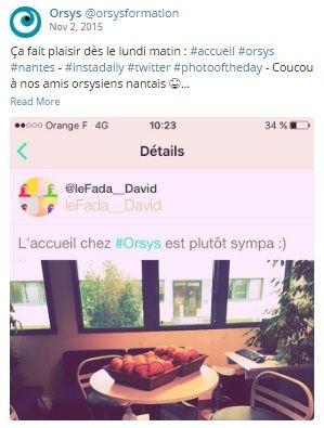 Qualité de vie au travail #QVT Espaces de travail, locaux - Orsys Nantes - Découvrez nos offres d'emploi : http://www.orsys.fr/?mode=recrutement
