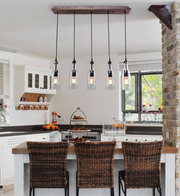 The Best Kitchen Island Lighting Images On Pinterest Island - Linear kitchen island lighting