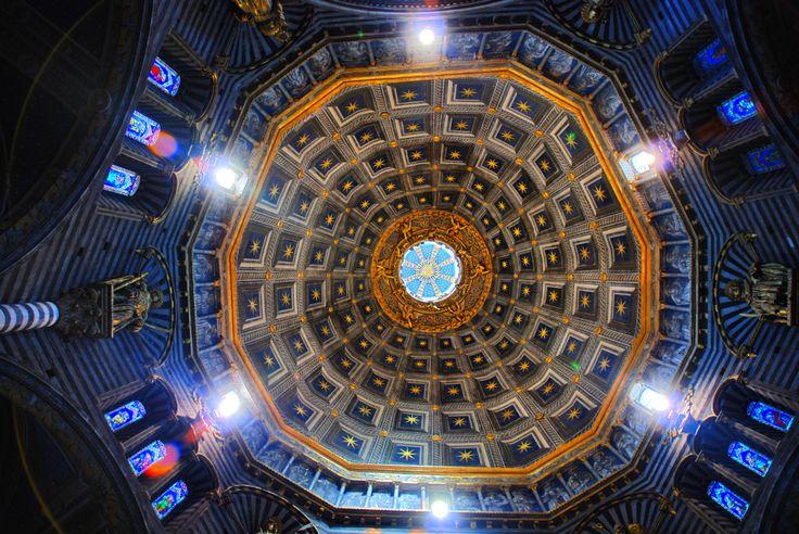 Siena, Duomo roof
