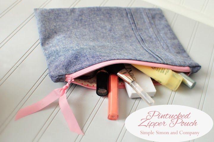 DIY: zipper pouch