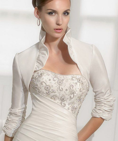 139 best bridal bolero jackets images on pinterest for Wedding dress boleros and shrugs