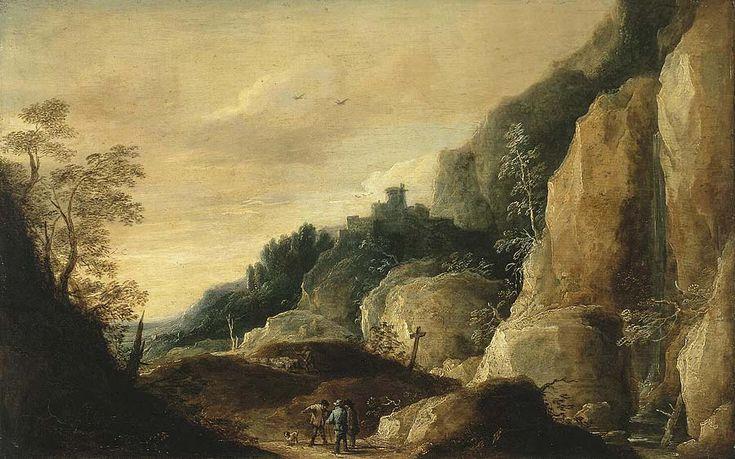 Давид Тенирс Младший. Горный пейзаж, Эрмитаж Год: 1640
