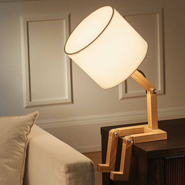 Louie The Lamp From Signals Lamp Light Fixtures Wooden Man