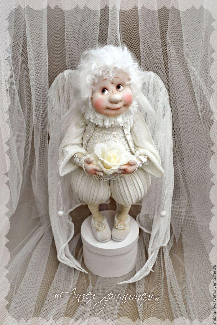 Купить Ангел -хранитель - белый, в интерьер, винтаж, шебби-шик, шебби, ангел…