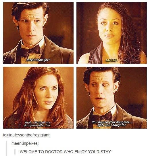 there is no possible way of explaining doctor who... it will turn a sane person insane!!