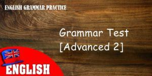 ENGLISH GRAMMAR PRACTICE 2