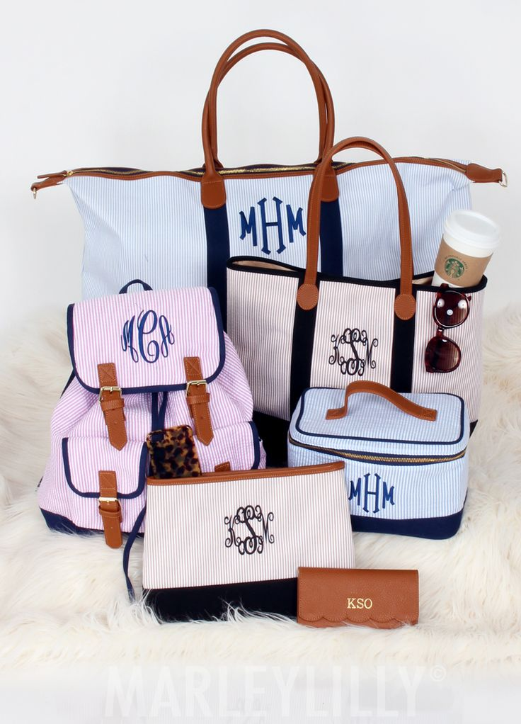 Sucker for this Seersucker Collection from Marleylilly! A preppy dream!