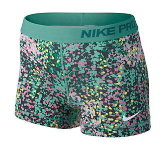 Ban the boring black with these fun printed shorts from Nike.
