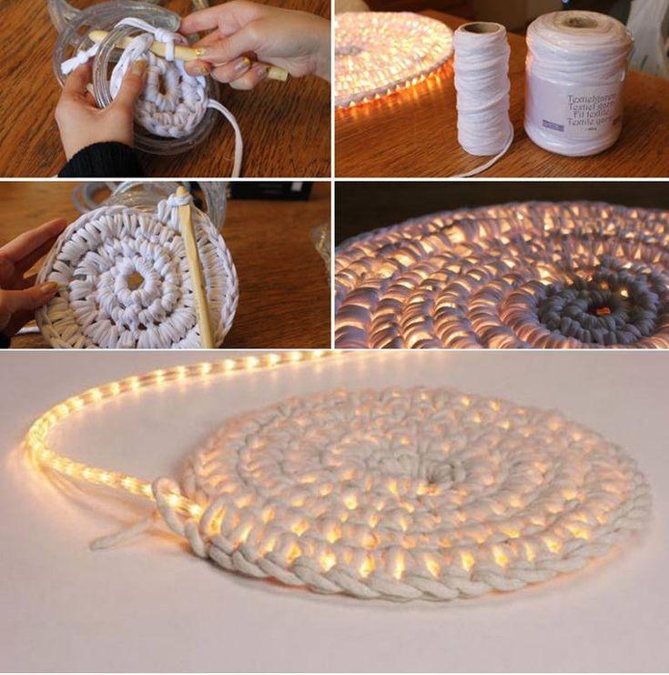 DIY Illuminating Rug Follow Us on Facebook -->> http://www.facebook.com/UsefulDiy