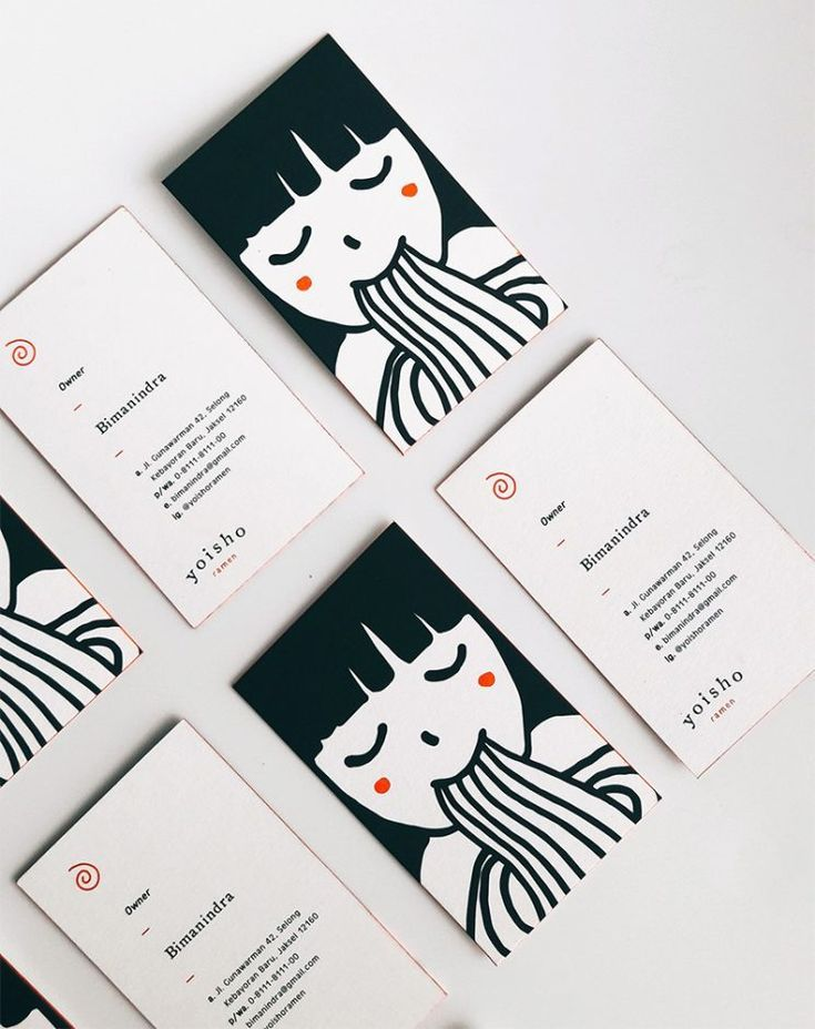 An impressive business card design by Senka …
