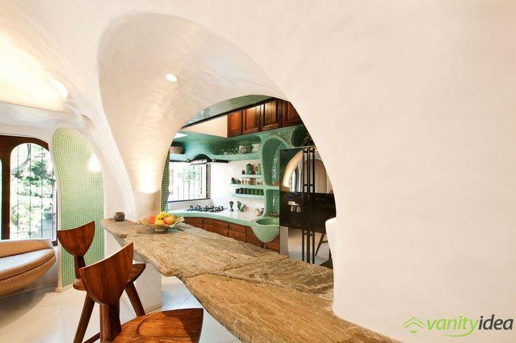 organic kitchen bar