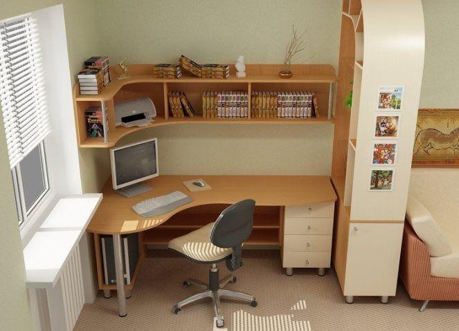 Компьютерный стол для школьника 8