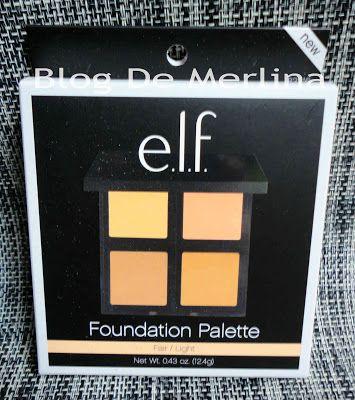 Paleta Base De Maquillaje Foundation Palette De ELF COSMETICS ~ Maquillaje... Tips, Productos y Opiniones