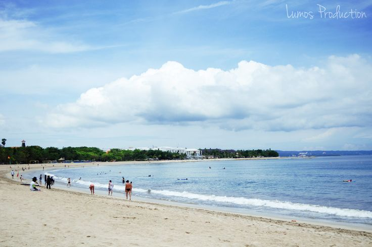 Kuat Beach Bali  White sandy beach, The most famous destination object in Bali  island, Legendary Kuta Beach, the center of nightlife in Bali, exactly in 61 Legian street, find the new world here at the midnight.