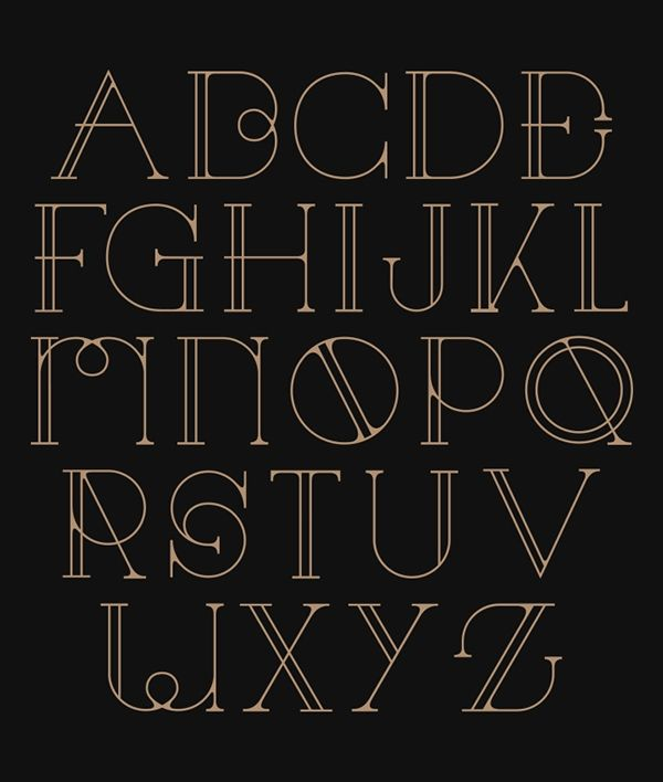 83 Best Typography Alphabet Images On Pinterest Letter