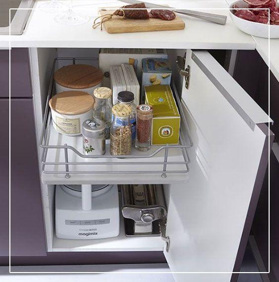 Best Cuisines Images On Pinterest Furniture Deco Cuisine And - Meuble bas cuisine tiroir pour idees de deco de cuisine