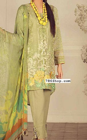 a71273dc49 Pistachio Lawn Suit | Buy Khaadi Pakistani Dresses and Clothing online in  USA, UK