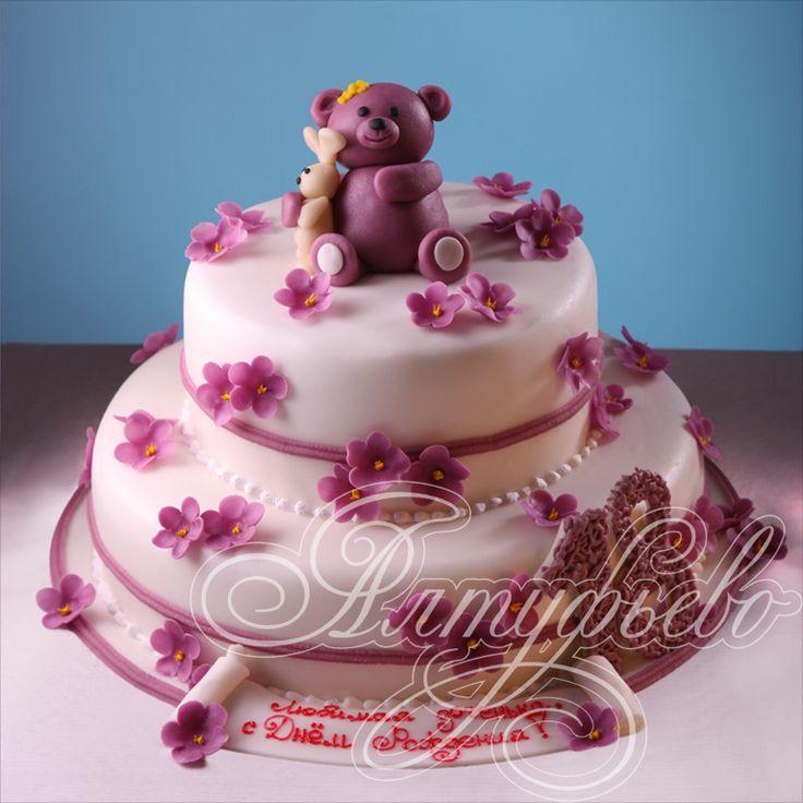 Картинки по запросу торт на день рождения девочке