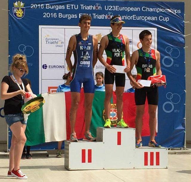 Triatlo: Atletas Teleperformance vencem medalhas de ouro em Burgas