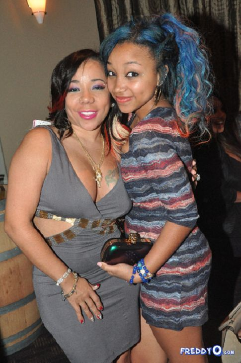 "Tiny and Ti Daughter OMG Girlz | Tameka ""Tiny"" Cottle Harris Celebrates Her 37th Birthday With TI ..."