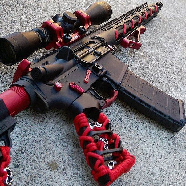 "AR-15 ""Red"""