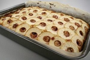 Friisenborg bradepandekage med æbler 4