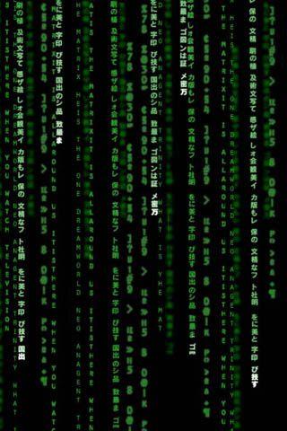 The Matrix.......do you see me?