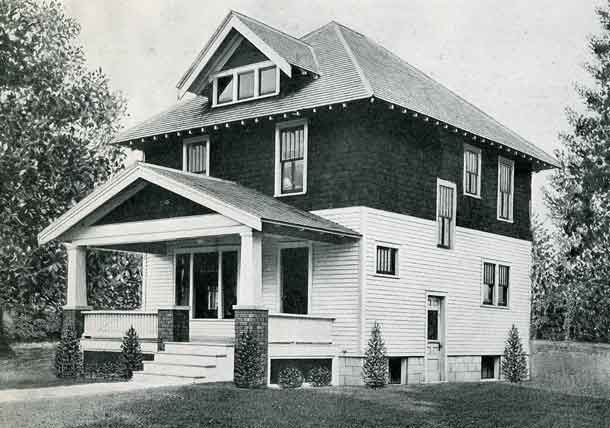 1926 Standard House Plans The Herndon Home Vintage