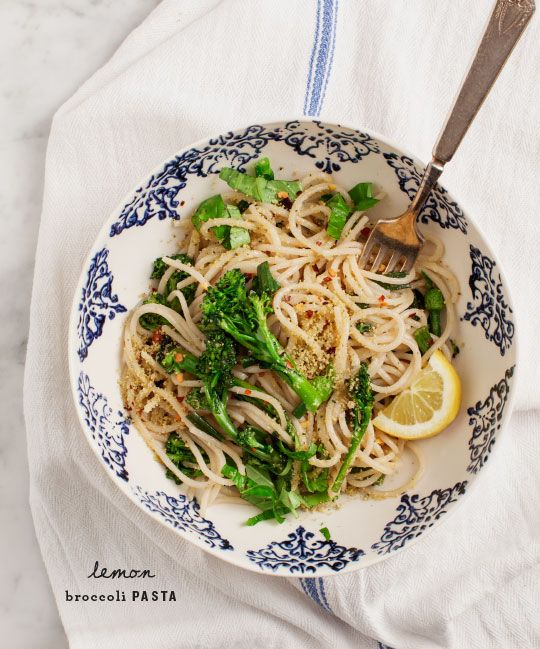 Lemon Broccoli Pasta + Exciting News! Recipe