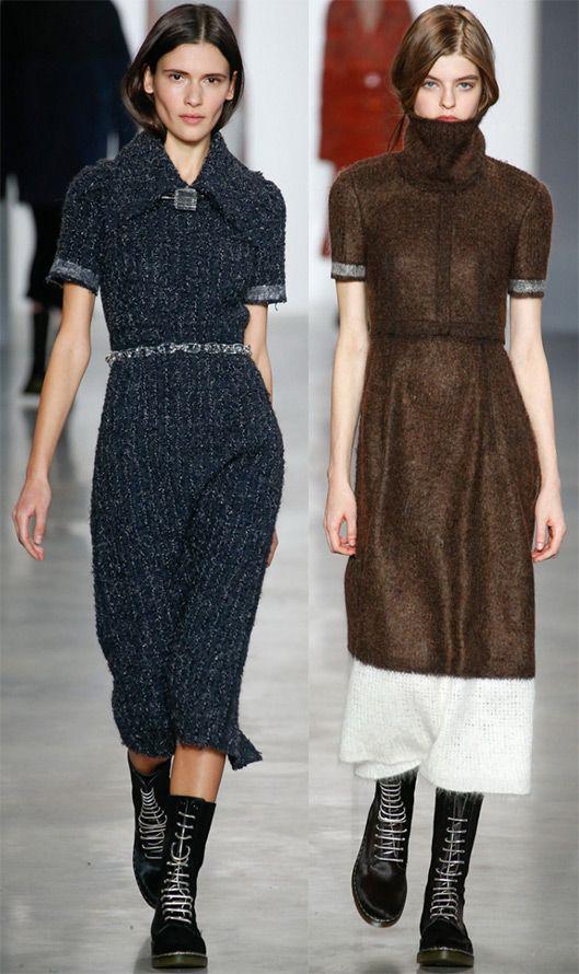 Calvin Klein Зимние платья 2014-2015