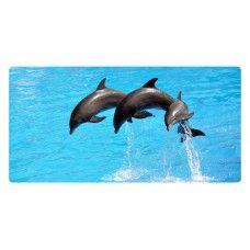 Delfinek falikép