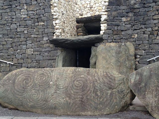 Kessel Travels: Rain, Newgrange, Knowth, and...Machu Picchu