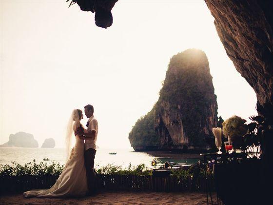 Wedding at the Rayavadee Resort, Krabi.