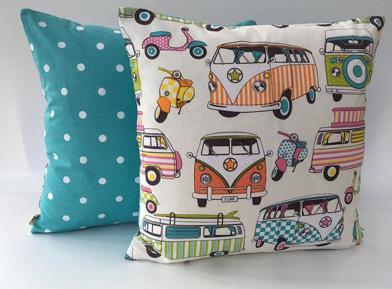 VW Campervan Cushion VW Camper Gift Idea Camping Gift IdeaVW