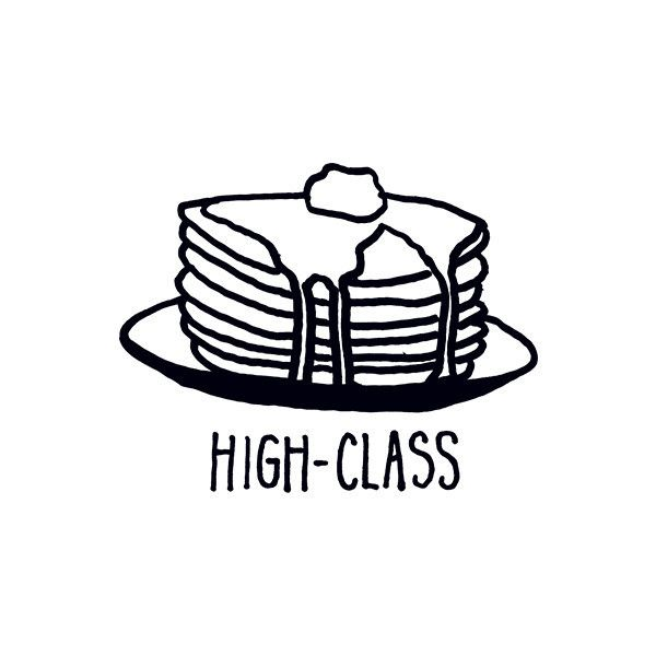 Stacked.  #highclass #upallnight #pancakes