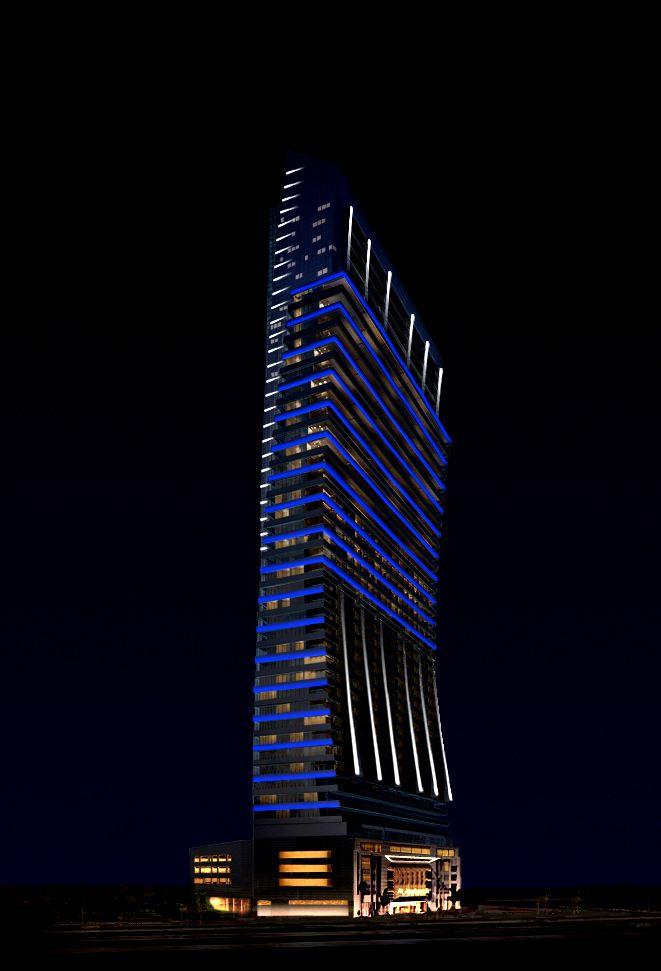 Nouran Concept Lighting Dubai Al Jawharah Tower