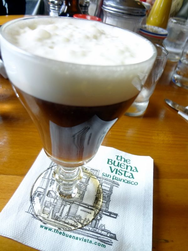 Irish Coffee at Buena Vista Cafe- San Francisco. You're missing out if you haven't had one!!