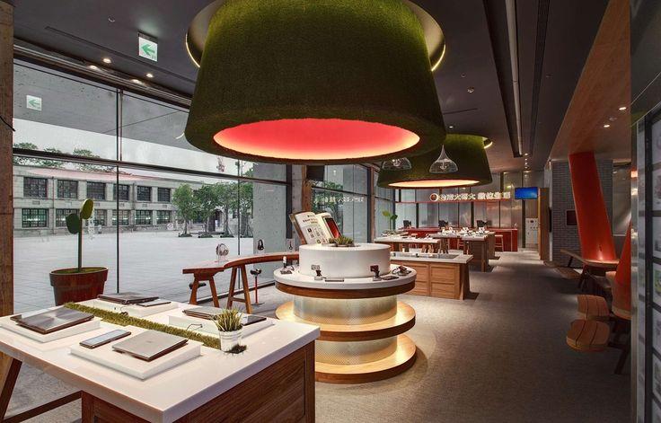 Bolon flooring in Taiwan Mobiles Co