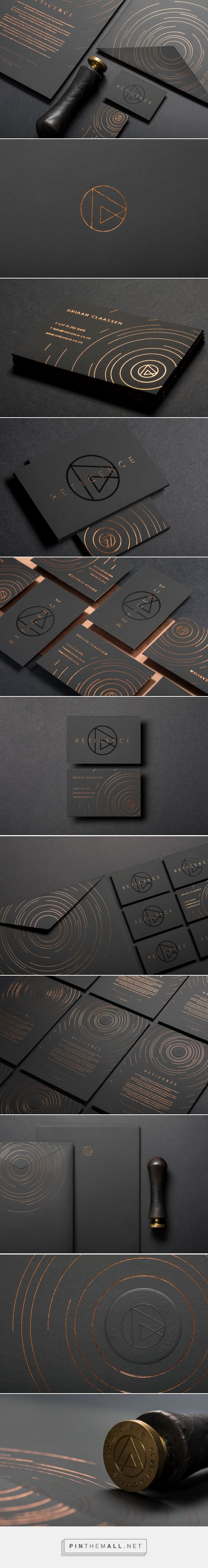 Reticence Sculptor Branding by Erwin Bindeman | Fivestar Branding Agency – Design and Branding Agency & Curated Inspiration Gallery  #branding #brand #businesscards #design #designinspiration