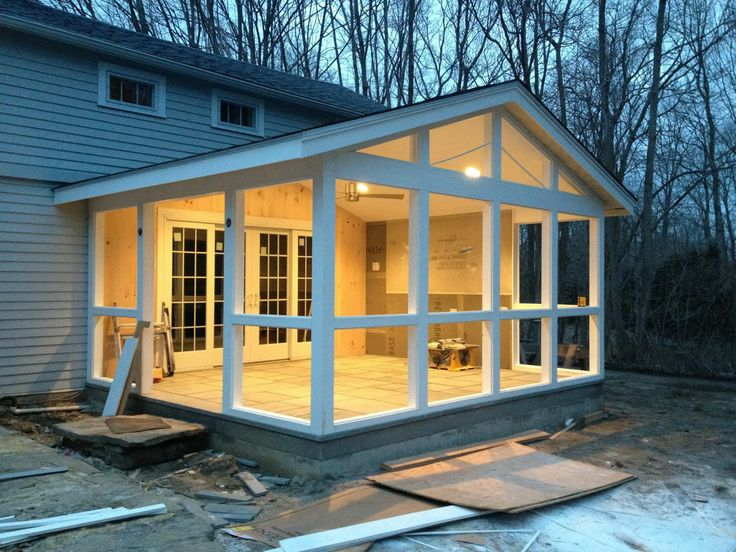 Pin by Mr Baxter on For the Home in 2019  Screened in porch Porch decorating Sunroom decorating