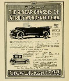 A Crow-Elkhart Motor Car