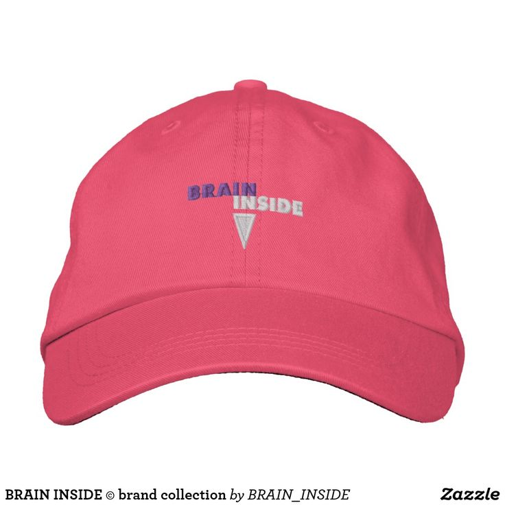 BRAIN INSIDE © brand collection Embroidered Baseball Caps
