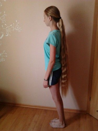 Knee Length Hair Lovely Hair Pinterest Hair
