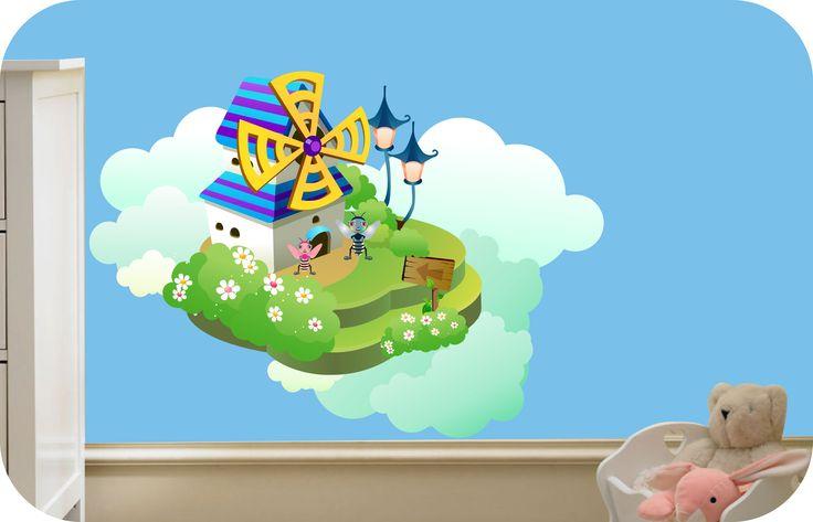 Blue Fantasy Castle
