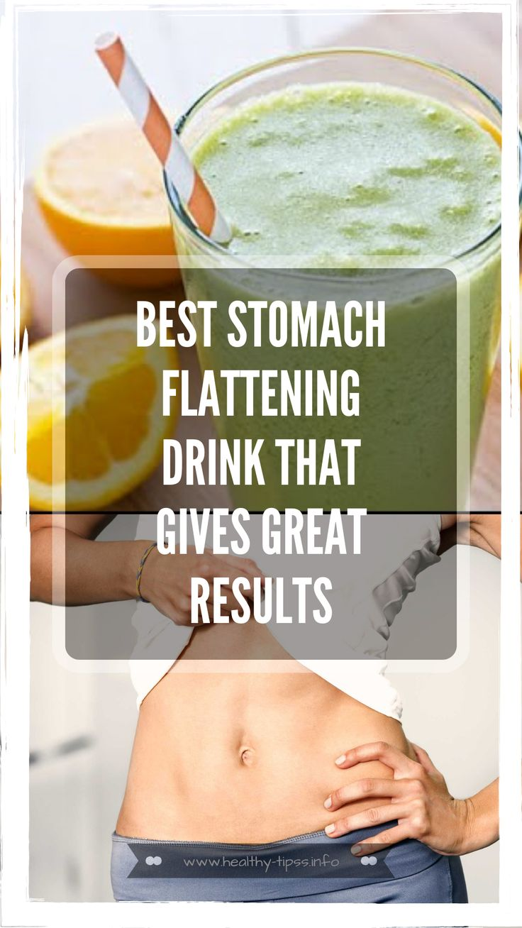 Best Stomach Flattening Drink that Gives Great Results