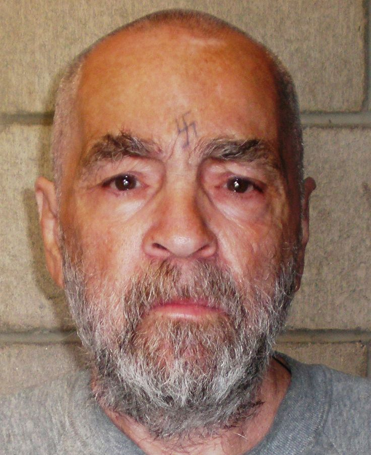 In this handout photo from the California Department of Corrections and Rehabilitation, Charles Manson, 74, poses for a photo on March 18, 2009 at Corcoran State Prison, California. Manson is serving a life sentence for conspiring to murder seven people during the 'Manson family' killings in 1969. The picture was taken as a regular update of the prison's files. (California Department of Corrections and Rehabilitation via Getty Images)  via @AOL_Lifestyle Read more…